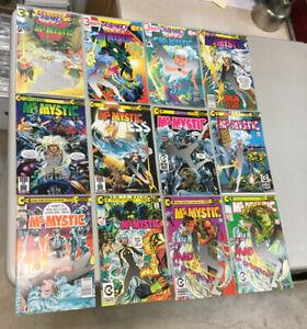 Ms. Mystic 1-9 & 1-3 Complete Sets Continuity Comics Neal Adams (MM04)