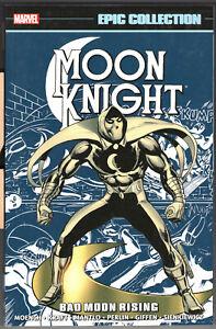 Moon Knight Epic Collection Bad Moon Rising tpb, Doug Moench, Bill Sienkiewicz