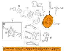 Chevrolet GM OEM 12-15 Sonic Front Brake-Disc Rotor 23118274
