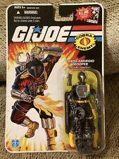 New listing Gi Joe Cobra Bat 25th Anniversary Android Trooper new in package