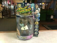 1999 Resaurus Street Fighter Round 2 SAGAT Action Figure MOC