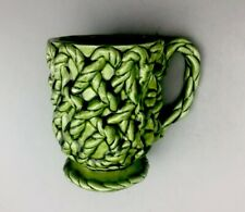 NARCO OLIVE GREEN MUG CUP E-3049