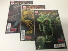 THE INFERNAL MAN-THING #1-3 (MARVEL/GERBER/NOWLAN/0218350) COMPLETE SET LOT OF 3