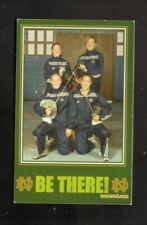 Notre Dame Fighting Irish--2003-04 Fencing Pocket Schedule