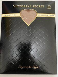 NEW Victoria's Secret SENSUAL SHAPERS size Small Contour Panty Shaper Color Buff