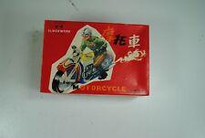 China Ms-702 clockwork racing  MOTORCYCLE BIKE Friction Tin Toy nice`70tes