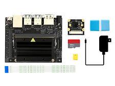 Jetson Nano Developer Kit B with IMX219-77 Camera 64GB TF Card US Power Adapter
