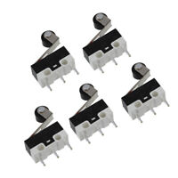 5X(5 piezas 3 Pines 1no 1nc Interruptor mini subminiatura con rodillo de pa D6V3