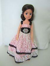 Sindy Doll Brunette Dressed in Faerie Glen Dress