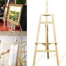Easel Wooden Artist Art Tripod Folding Portables Sketch Drawing Display Stand UK