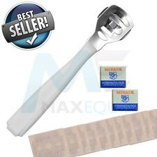 HARD Dead Skin Corn CALLUS REMOVER CUTTER Shaver Pedicure FOOT TOOL + 10 BLADES