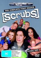 Scrubs : Season 1 (DVD, 2005, 4-Disc Set)