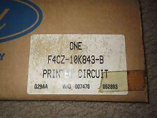 NOS NEW 1994 FORD ESCORT MERCURY TRACER W TACH DASH CIRCUITBOARD F4CZ-10K843-B