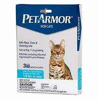For Cats,Flea&Tick Treatment for Cats (Over 1.5 Pounds),Includes 3 Month Supply