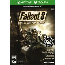 Bethesda Fallout 3 Edición Juego Del Año