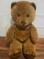 Vintage Ace Brown Bear Soft Toy 12'' Made 1989
