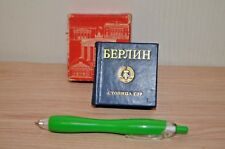 Miniature book about East Berlin In Russian . Original GDR. 1980