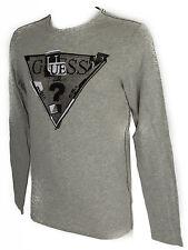 Maglia t-shirt girocollo uomo GUESS a.M44I19 taglia XS col.M90 GRIGIO GREY