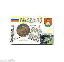2 Euro Sondermünze Slowenien 2015 Emona in Premium Coincard/Münzkarte