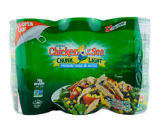 12 CANS Chicken of the Sea Chunk Light Premium Tuna in Water 7 oz each EZ open