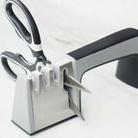 Knife Sharpener 4-in-1 Kitchen Sharpener Handheld Tools-Manual Blades Q