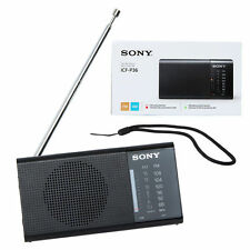 Sony ICF-P36 Portable AM/FM Radio - Black
