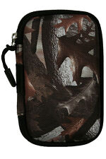 Kodak Fabric Hardshell Camera Case Cover protector w/ Neckstrap Camo Bag New