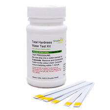 Total Water Hardness Test Strips Kit Easy & Accurate x 50