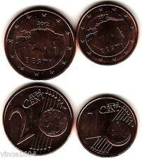 1,2 cts cent centimes euro Estonie / Estonia 2012 , UNC DE ROULEAUX !!