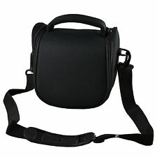 Camera Case Bag for Sony Cyber-shot DSC-H300 HX400VB Bridge Camera (Black)