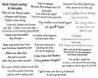 Unmounted Rubber Stamps Sheets, Funny, Humorous Sayings & Quotes, Friends, Humor