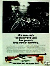 1973 Daisy Toy B B Gun Western Air Rifle Marksman Kids Bike Vintage Toy Trade AD