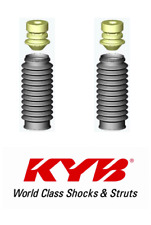 KYB Front Rear Strut Bellows Kit Pair For 68-17 Ford/Dodge/Mitsubishi #SB101
