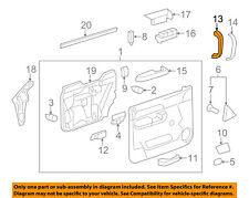 GM OEM Front Door-Pull Handle Left 15803990