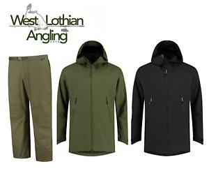 Korda Kore Drykore Waterproof Jacket & Overtrousers *Black & Green* ALL SIZES