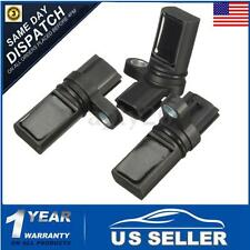 Set of 3 Engine Camshaft Crankshaft Position Sensor CPS Set Fits Infiniti Nissan