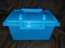 TUPPERWARE Small Carry All Storage Container Rice Pet Food Beans Toys Crafts New