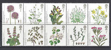 Great Britain 2009 Action for Species Series 3 Plants Block of 10