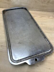 Vintage Tappan Stovetop Cast Iron Cooking Griddle Plate Cook Top
