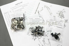 BLACK COMPLETE FAIRING BOLTS FASTENERS Clips SCREWS KIT Yamaha YZF600R 97-06 USA