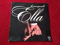 """ELLA FITZGERALD - THE INCOMPARABLE ELLA - 12"""" VINYL LP ALBUM 1980"""
