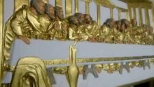 Groß Relief Das letzte Abendmahl von Leonardo da Vinci Skulptur Wandrelief Bild