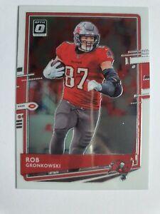 Rob Gronkowski 2020 Optic NFL Football Tampa Bay Buccaneers TE Card