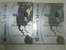 2005 Ford Explorer Mountaineer Workshop Manuals