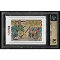 MARVEL BGS 9.5 = PSA 10? VISION - THOR  #98 of 126 - FROM 1972 - 2015 AVENGERS