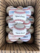 20 USED lot of Leather Baseballs Practice Balls FREE Priority SHIPPING