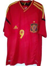 Spain Euro 2012 Football Shirt Medium Torres 9 Espana Retro Adidas.