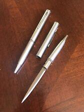 Elegant Silver Tone Executive Pen Knife Letter Opener FREE SHIPPING