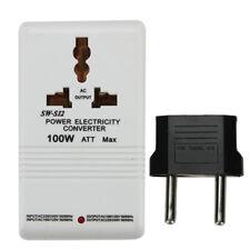 110V to 220V STEP Up/Down VOLTAGE CONVERTER 100W Watt TRANSFORMER TRAVEL