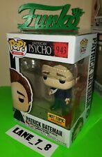 Funko Pop! Patrick Bateman American Psycho Hot Topic Exclusive # 943 New
